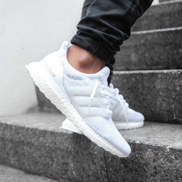 Adidas Ultra Boost Triple White 3.0 2017 TheShoeGame