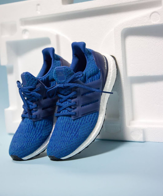 Now Available: adidas Ultra Boost 3.0 'Blue' Sneaker Shouts