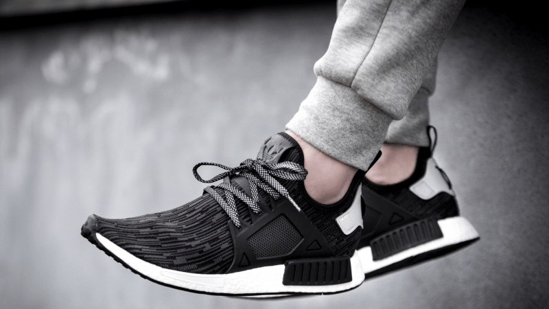 adidas nmd monochrome black and white mens adidas nmd runner xr1