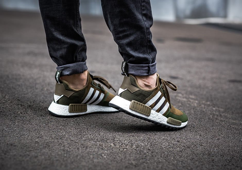 Adidas Adidas NMD R1 Trail Trace Cargo Olive Green from Zayn 's