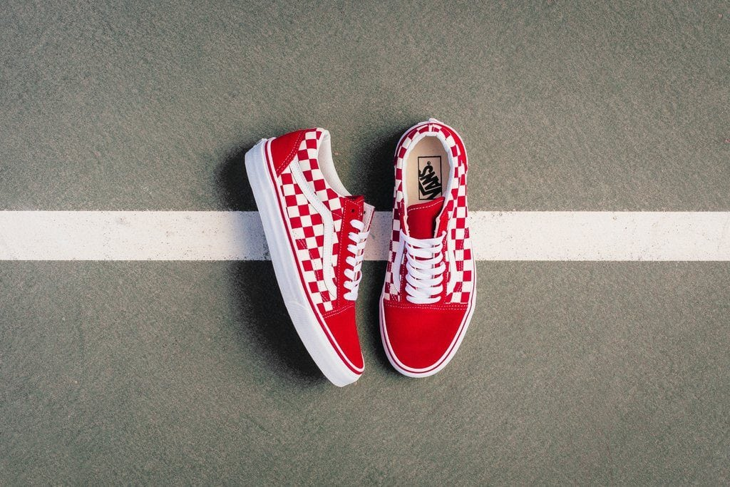 vans old skool checkerboard asos