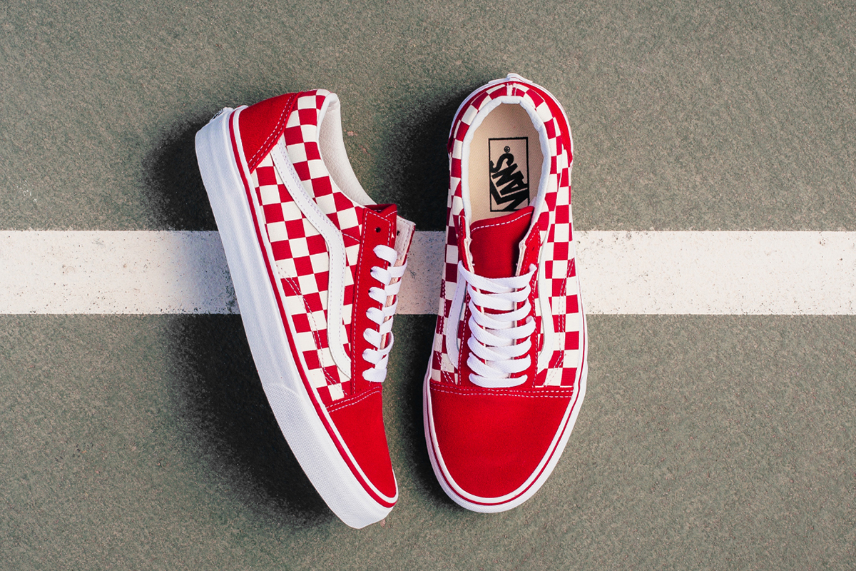 Buy Vans Old Skool Primary Check