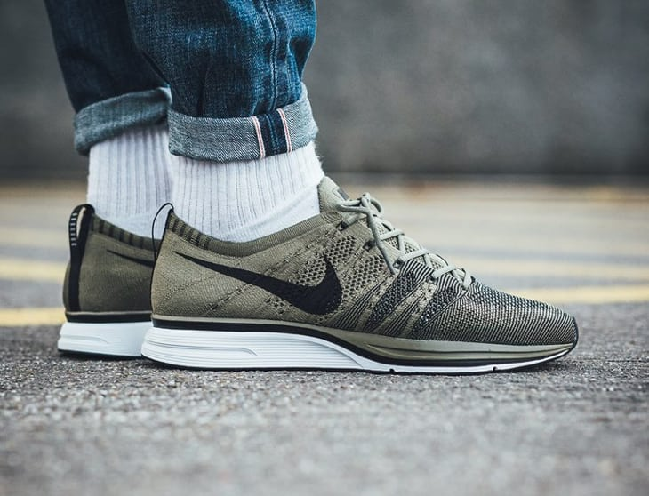 Nike Flyknit Trainer Olive $509起