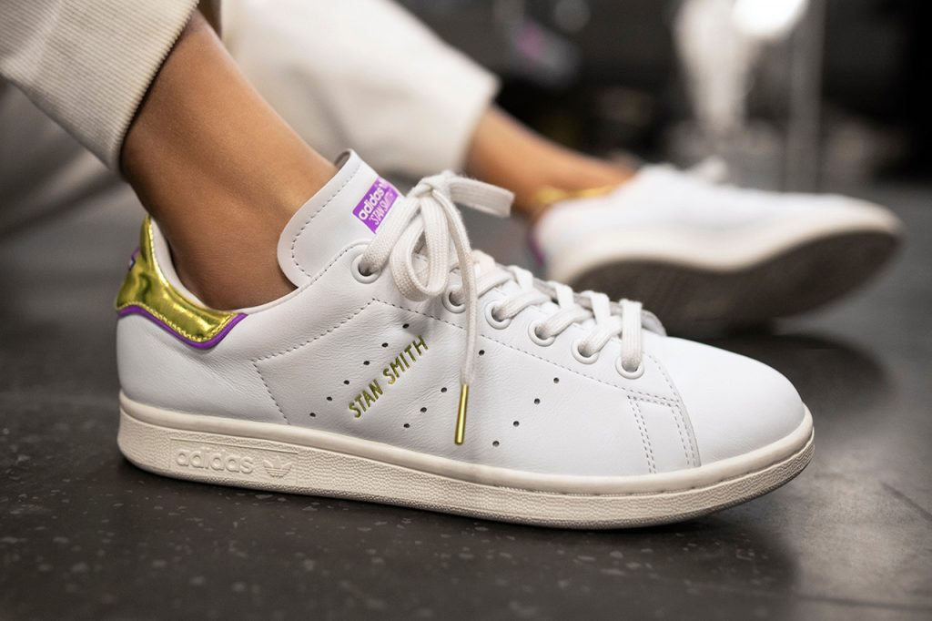 adidas Originals TFL Stan Smith in white and gold in 2019