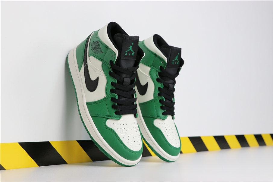 low priced a04c1 46960 BIY Roamer | Nike Air Jordan 1 Mid Pine Green $925 @ Amazon